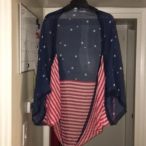 American Girl Stars and Stripes kimono